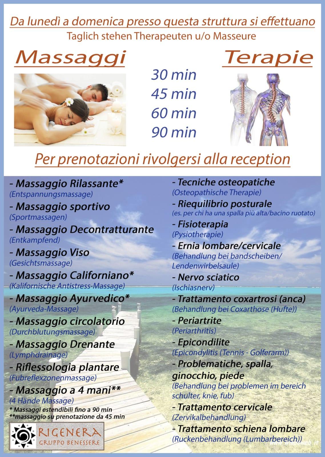 Saletta Massaggi
