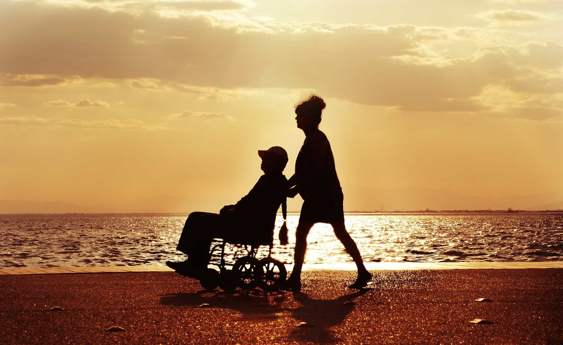 Disabili wheelchair behindert