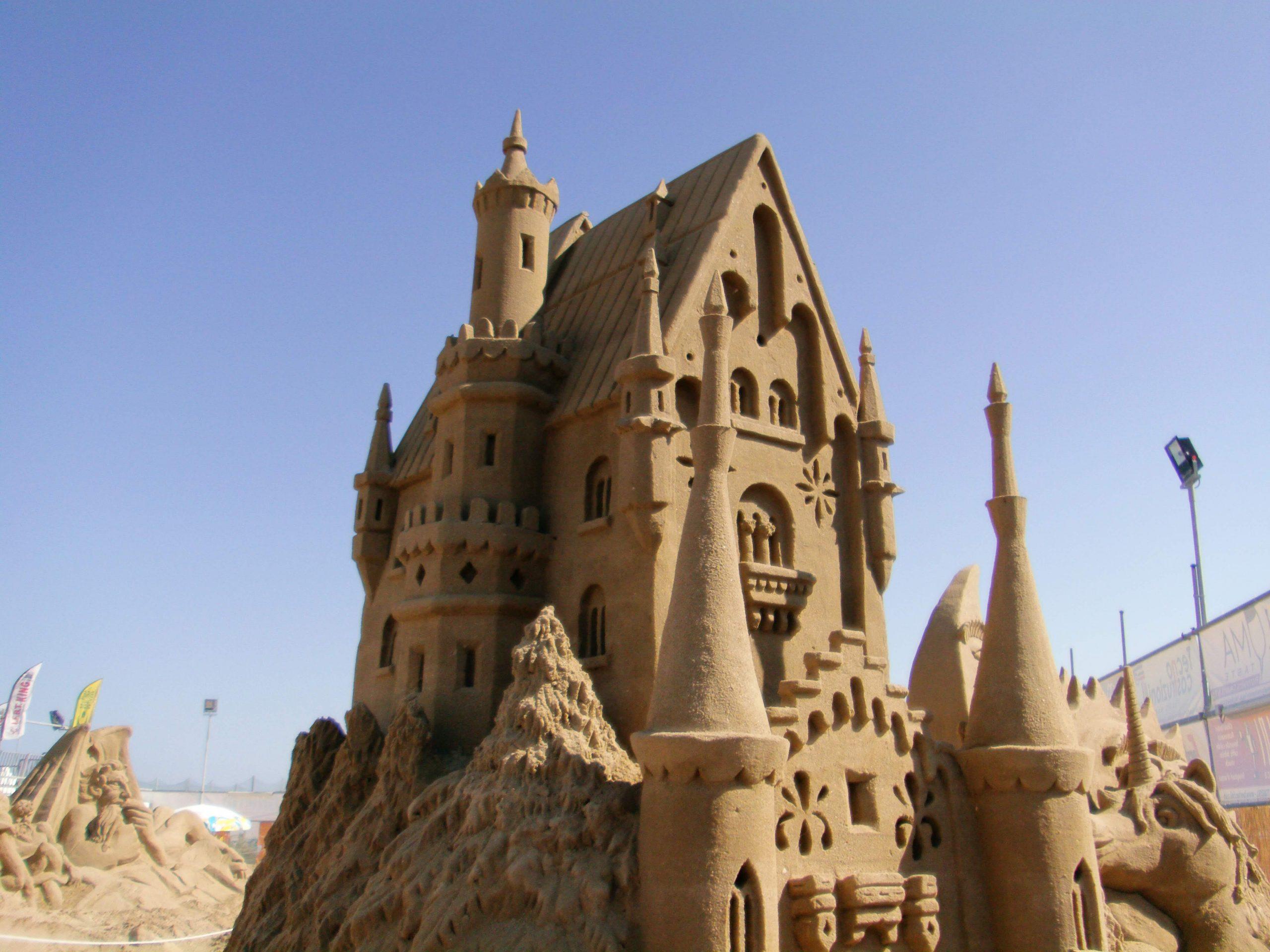 sabbia Sandskulpturen