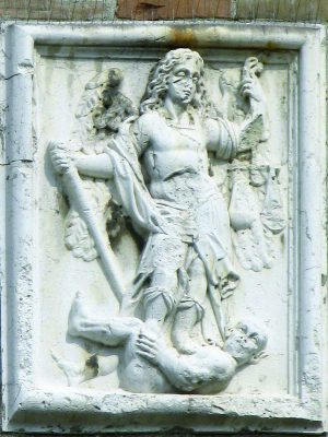 Torre San Michele bassorilievo