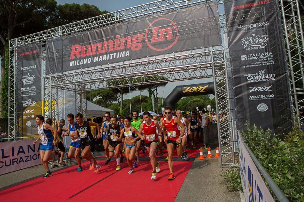 Running In Milano Marittima En