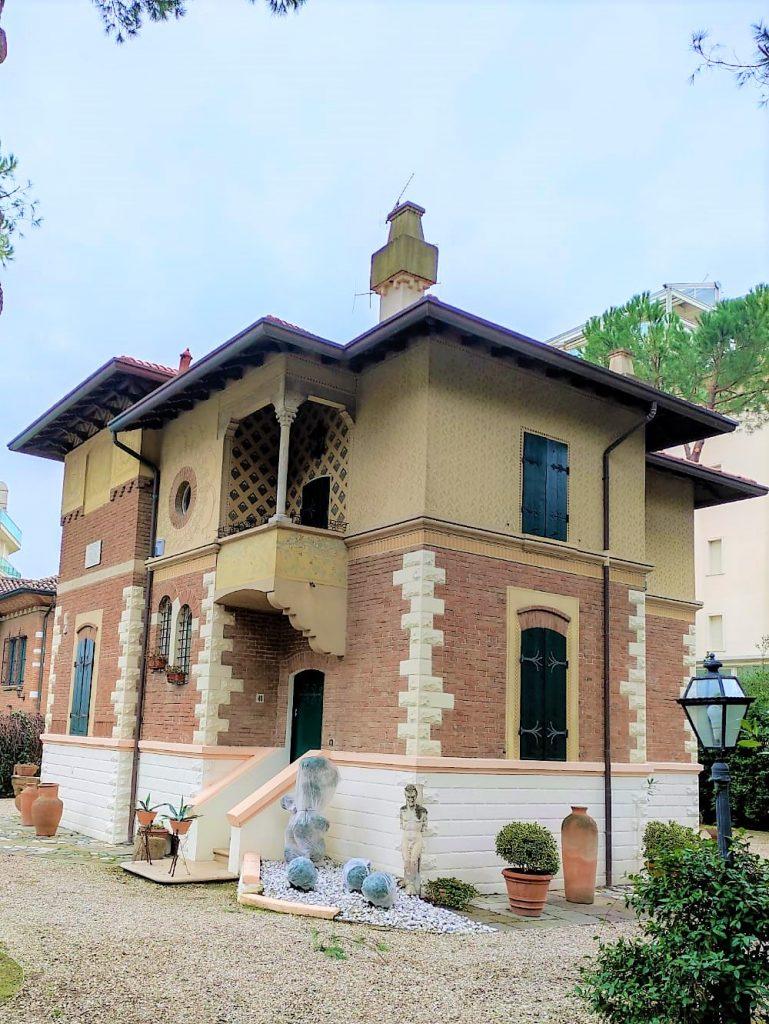 villa palanti liberty milano marittima