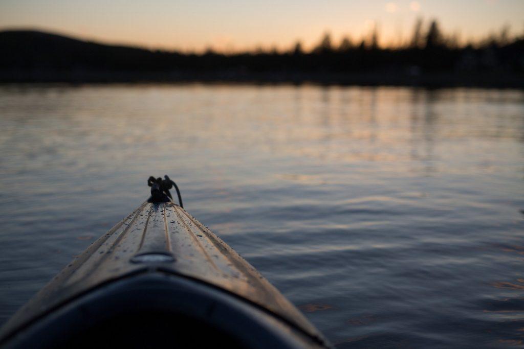 Escursione in canoa sul Bevano
